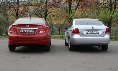 Hyundai solaris polo sedan