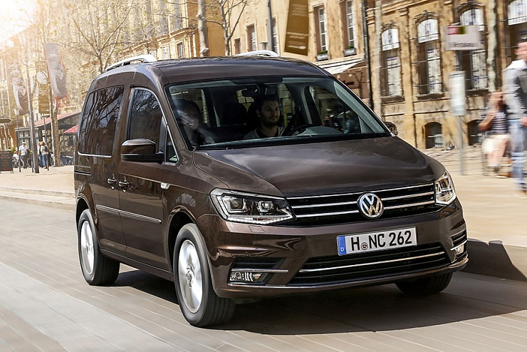 2 место. Volkswagen Caddy (929, +33,3%)
